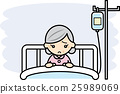 be hospitalized, concern, worries 25989069