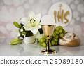 Holy Communion Bread, Wine  25989180