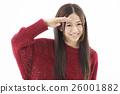 여성, 여자, 웃는 얼굴 26001882