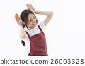 보육사 간호 보모 보육 육아 선생님 여성 26003328