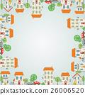 城市 框架 邊框 26006520