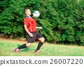 Woman footballer 26007220