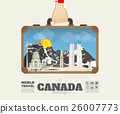 Hand carrying canada Landmark Global Travel  26007773