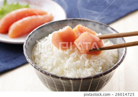 家常鳕鱼的鱼子 鳕子 食物 26014725