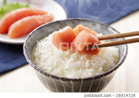 roe of a fish from family gadidae, tarako, food 26014726