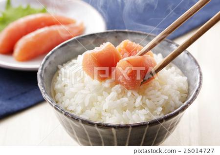 家常鳕鱼的鱼子 鳕子 食物 26014727