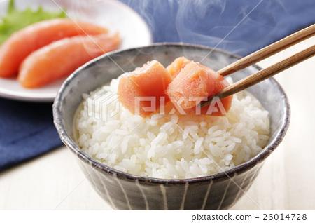 家常鳕鱼的鱼子 食物 食品 26014728