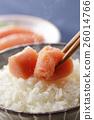 家常鳕鱼的鱼子 食物 食品 26014766