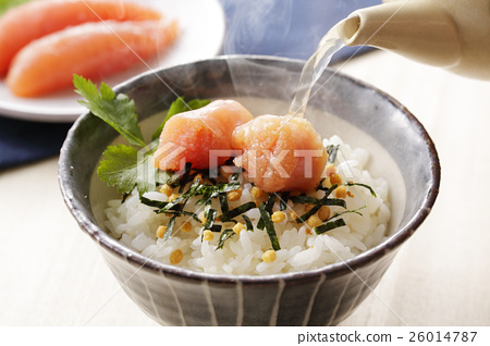 家常鳕鱼的鱼子 茶泡饭 鳕子 26014787