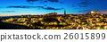 Panorama Toledo dusk 26015899