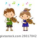 小提琴表演 26017042
