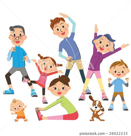 三代家庭做體操 26022215