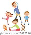 做體操的父母 26022216