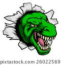 monster, vector, head 26022569