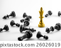 Chess business concept, leader & success 26026019