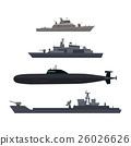 ship, vector, boat 26026626