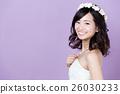 笑容 新娘 婚禮 26030233