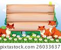board, animal, fox 26033637