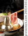 涮涮锅 猪肉 猪肉涮涮锅 26034301