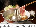 涮涮鍋 豬肉 豬肉涮涮鍋 26034311