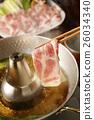 涮涮锅 猪肉 猪肉涮涮锅 26034340