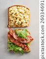Bacon and Egg Salad Sandwich 26034691