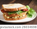 Bacon and Egg Salad Sandwich 26034698