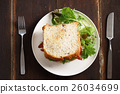 Bacon and Egg Salad Sandwich 26034699