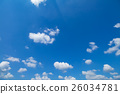 Blue Sky And Clouds 26034781