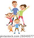 做體操的父母 26040077