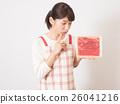 ผู้หญิงที่มีใบหน้าและเนื้อวิตก 26041216