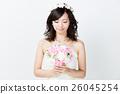 웨딩 흰색 배경 이미지 26045254