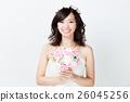 웨딩 흰색 배경 이미지 26045256