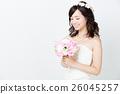 웨딩 흰색 배경 이미지 26045257