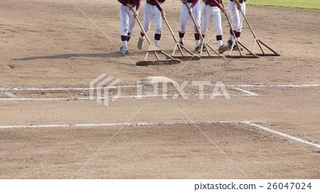 야구 그라운드 정비 26047024