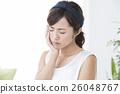女性 熱 牙痛 26048767