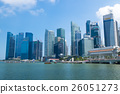 싱가포르의 빌딩 군 26051273