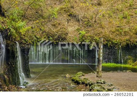 Shinshu Karuizawa Autumn's Shiraito Falls 26052201