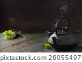 Image of traditional eastern teapot 26055497