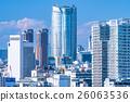 城市景觀 城市 高層建築 26063536