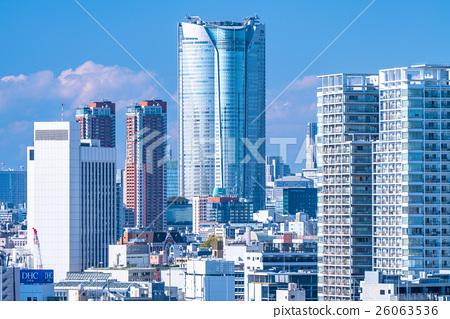 东京城市景观 26063536