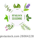 Italian seasoning. Vector 26064228