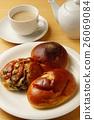 麵包 小甜麵包 丹麥甜糕餅 26069084