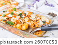 Italian potato and chicken baked recipe on the  26070053