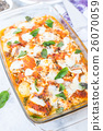 Italian potato and chicken baked recipe on the t 26070059