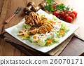A new concept of eating salads crispy and spic 26070171