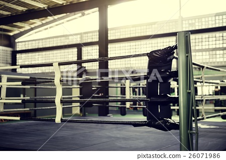 Boxing RIng Arena Stadium Fighting Competitive Sport Concept 26071986