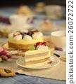 蛋糕 美味的 饼干 26072722