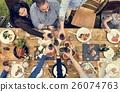 乾杯 吃 食物 26074763