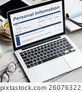 Personal Information Data Application Form Concept 26076322